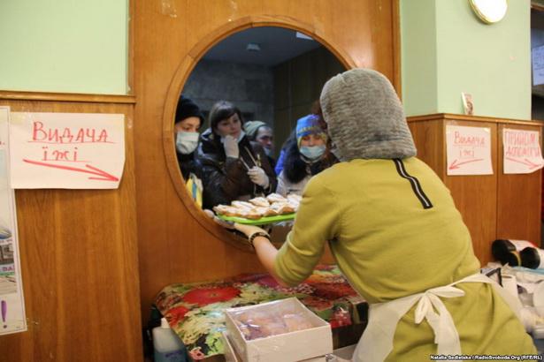Кухня Еўрамайдану//Наталія Седлецька, radiosvoboda.org