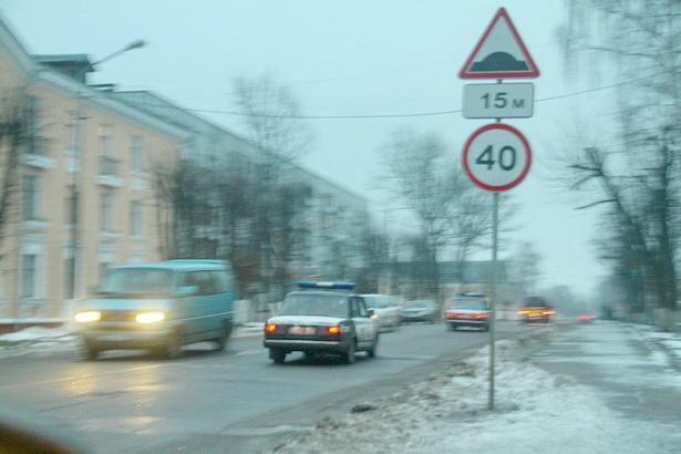 Вечером 14 декабря в Барановичах дежурит милиция и ОМОН
