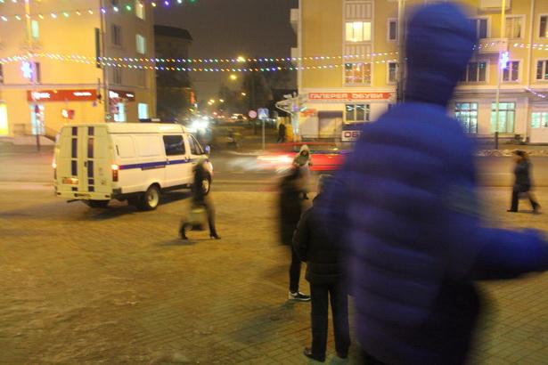 Вечером 14 декабря в Барановичах