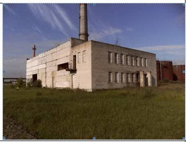 Недостроеное здание в Гомельской области, принадлежащее концерну Белгоспищепром