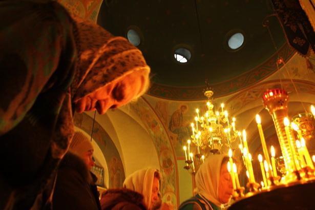 Праздничное богослужение в храме Покрова Святой Богородицы в Барановичах. Фото INTEX-PRESS/Людмила Прокопова