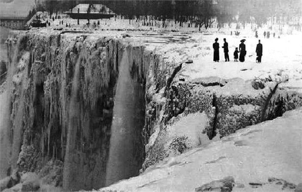 Ніягарскі вадаспад у 1912 годзе