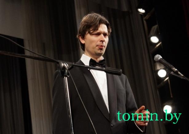 Впервые приехал в Брест на фестиваль и лауреат международных конкурсов из Великобритании Лукаш Гайдученя (баритон). Фото с сайта TOMIN.BY