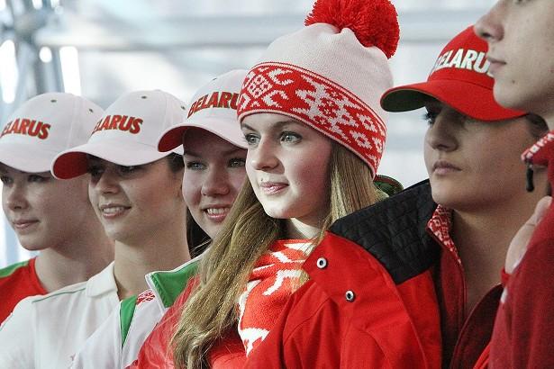 Презентация спортивной формы олимпийской сборной Беларуси. Фото с сайта belapan.by