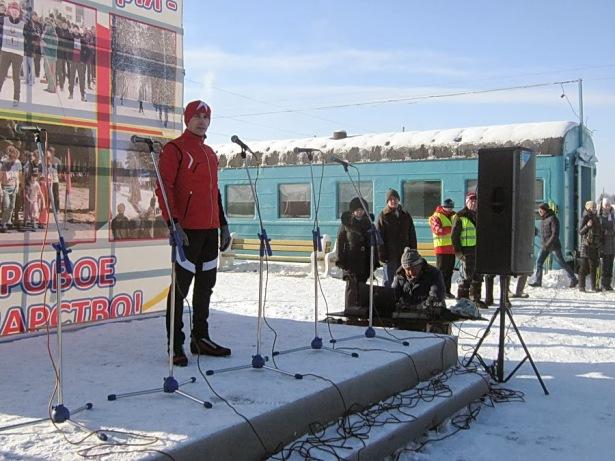 Открытие 1-го этапа Кубка Беларуси по лыжным гонкам. Фото Виктора Шерышева.