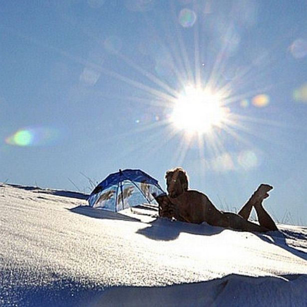 @intex_press Пад студзеньскім сонцам...