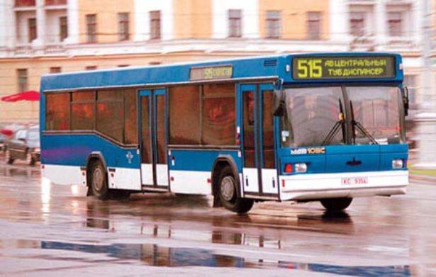 Автобус МАЗ-103 пригородного сообщения. Фото с сайта bartrans.net