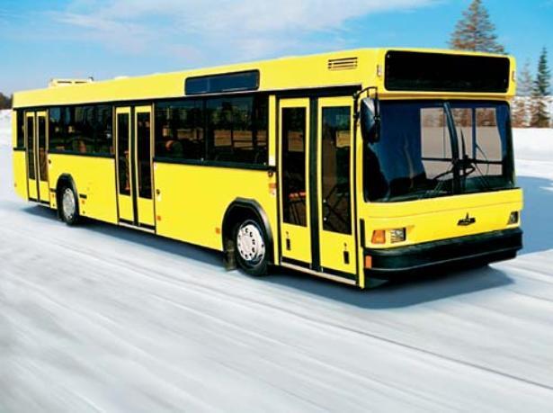 Автобус  городских маршрутов МАЗ-103. Фото с сайта bartrans.net