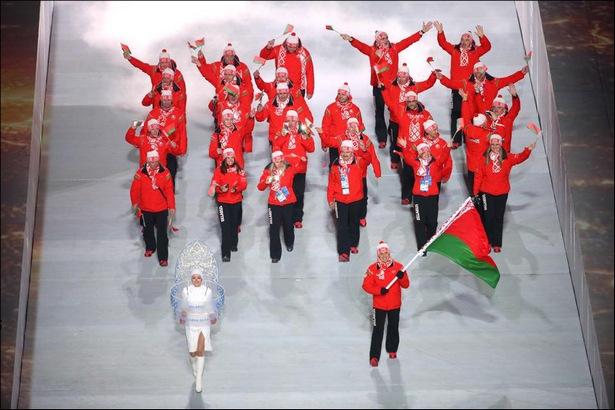 В Сочи зажжен огонь Олимпиады-2014. Фото с сайта naviny.by