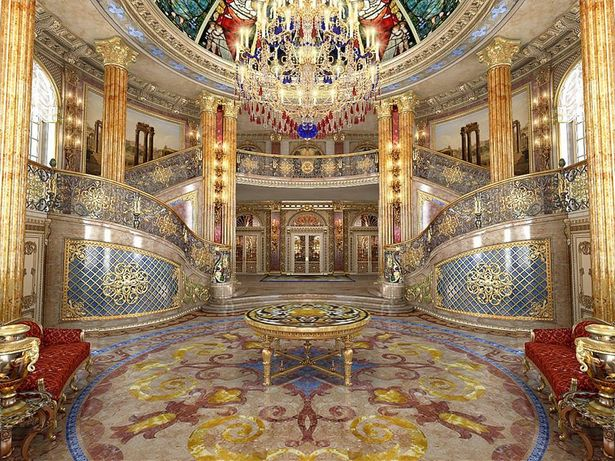 Проект дворца регионала Юрия Иванющенко