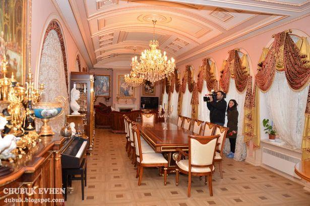 Дом бывшего генпрокурора Пшонки