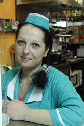 Наталья, продавец общепита