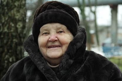 Пенсионерка Нина Ивановна