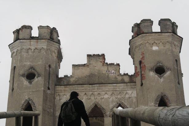 Коссовский замок. 2010 год