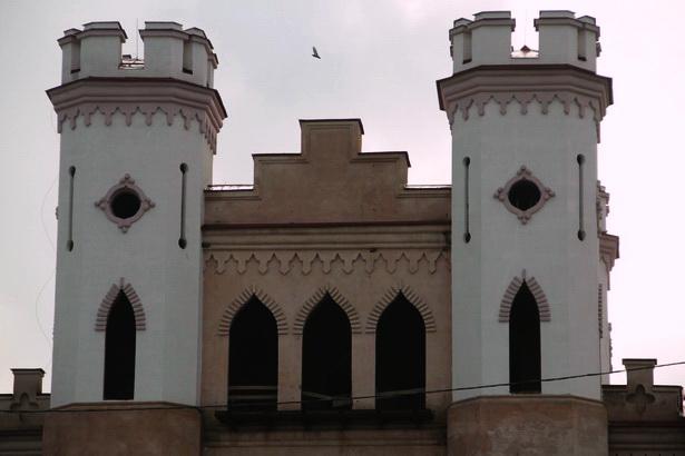 Коссовский замок. 2014 год