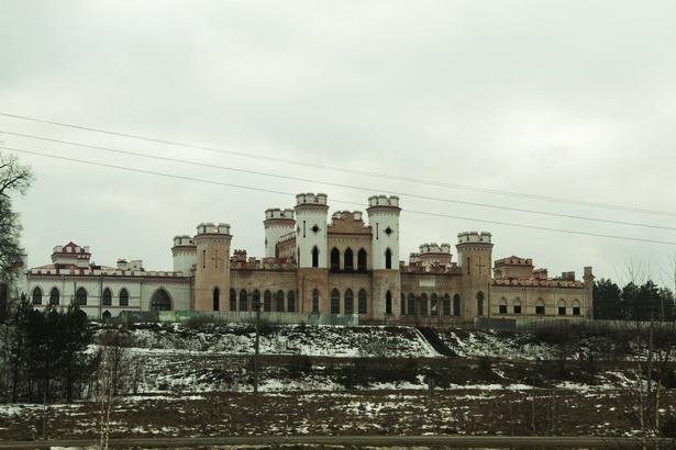 Коссовский замок. 2014