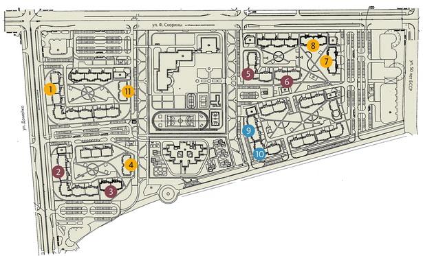 Планы строительства жилья в микрорайоне Боровки-2