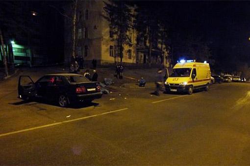 Пьяный водитель въехал в толпу пешеходов в Воронеже