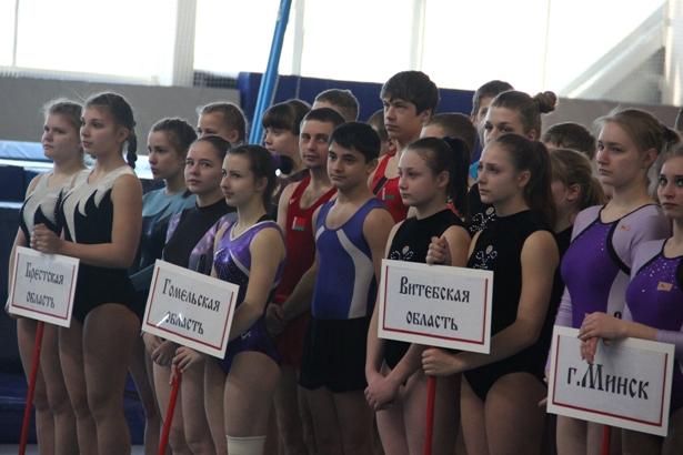 Парад-открытие соревнований. Фото Александр Трипутько.