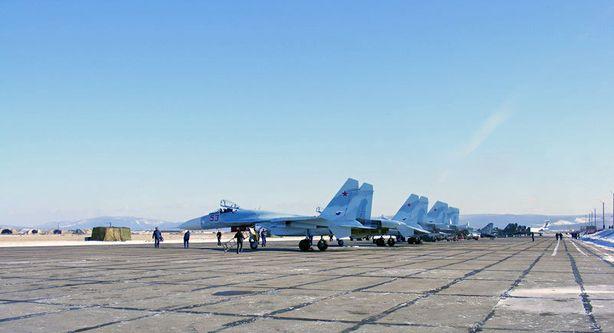 Россия планирует разместить в Барановичах полк СУ-27СМ3.