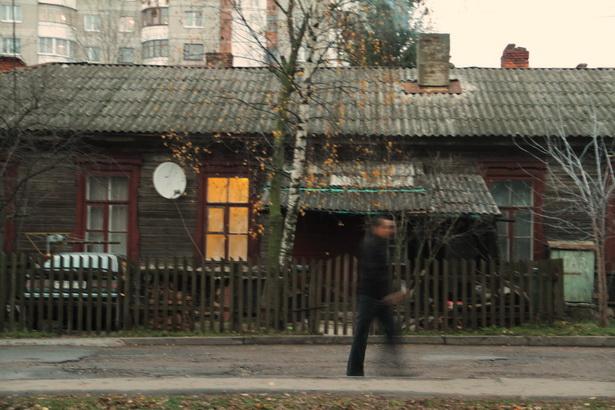 Бараки в военном городке в Барановичах