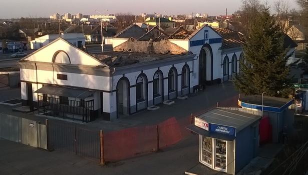 Реконструкция вокзала Барановичи-Центральные