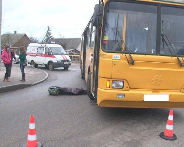 В Лиде автобус насмерть сбил ребенка