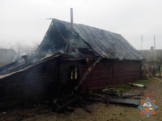 Пожар 25 марта произошел в д. Приозерная