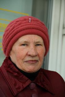 Іна, пенсіянерка