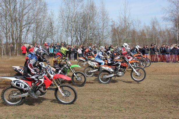 Чемпионат по мотокроссу памяти Сергея Грицевца, Барановичи, 6 апреля 2014 года