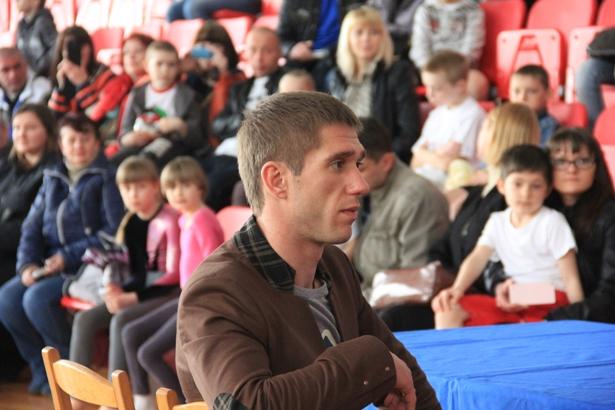 Олимпийский чемпион по фристайлу Антон Кушнир. Фото Александр Трипутько.