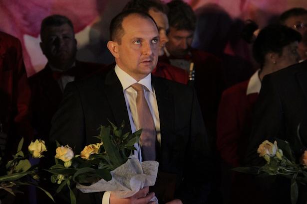 Сергей Романов стал «Человеком года» в области предпринимательства. Фото: Александр Трипутько