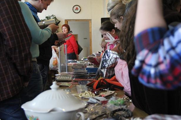 В Барановичах прошла бесплатная ярмарка Free Market. Фото: Александр Трипутько