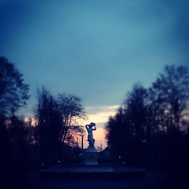 @_rinast  Вечар у Маладым парку