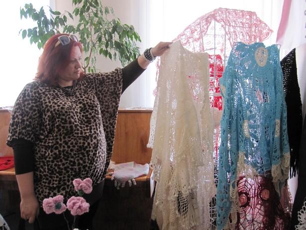 В Барановичах открылась выставка для модниц. Фото автора