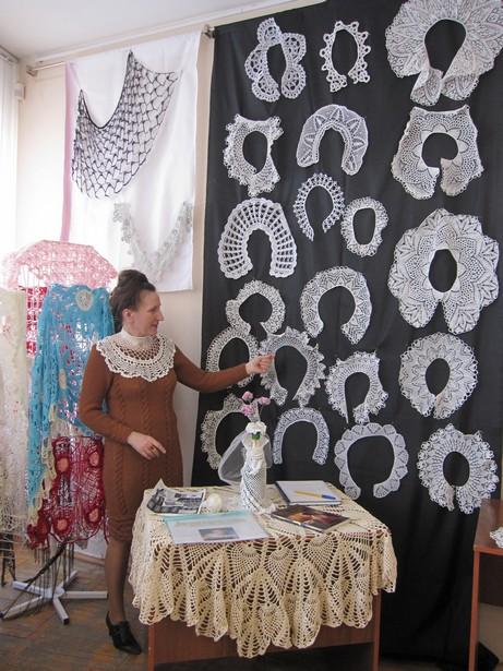 Леокадия Климашевская презентовала свои работы. Фото автора