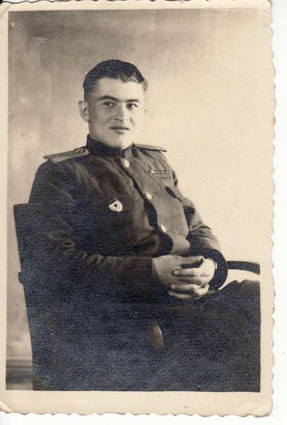 Разведчик Василий Петрович Сунцов.