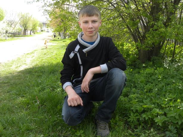 Ваня Лущик, 14 лет
