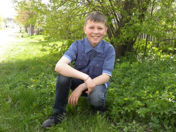 Захар Лущик, 11 лет