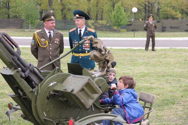 Дзень адчыненых дзвярэй. 120-я Яраслаўская зенітна-ракетная брыгада, 8 мая.