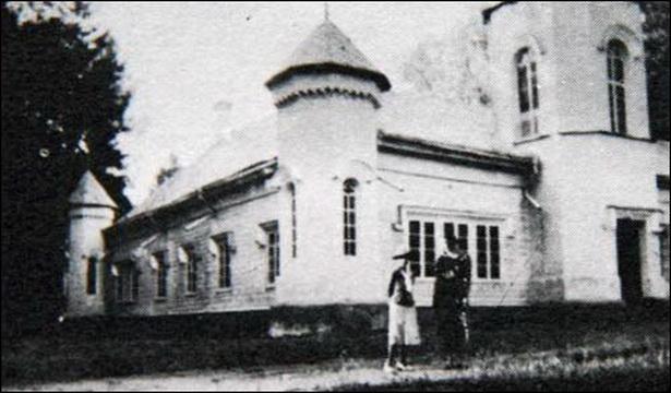 Так выглядаў палац Слізняў у Вольна ў 1939 годзе.