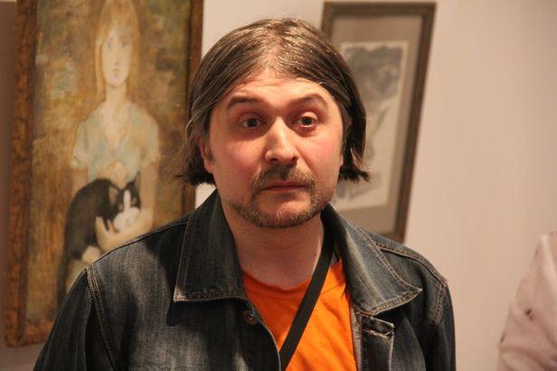 Виктор Болотаев открыл свою первую персональную выставку