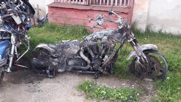 Два байкера разбились под Барановичами