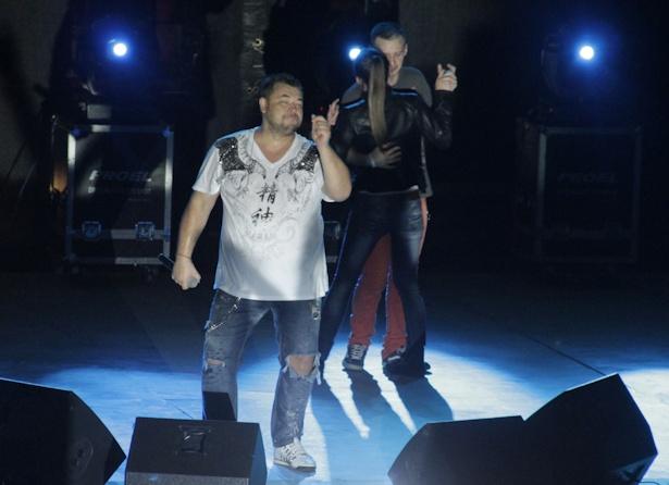 «Руки вверх» дали концерт в Барановичах. Фото Александра ТРИПУТЬКО