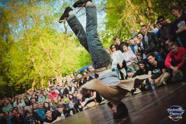 Игорь Матусевич на фестивале «Lithuanian Spring Cup-2014» в Вильнюсе 25 мая. Фото из архива танцора.