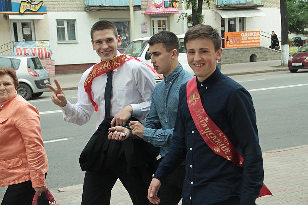 Последний звонок в Барановичах