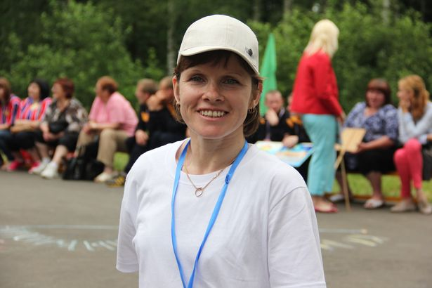 Анна Бахур из Ивацевичей приезжает на соревнования второй раз.  Фото Александр Трипутько.