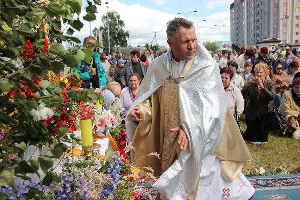 Працэсія Божага Цела 22 чэрвеня ў Баранавічах