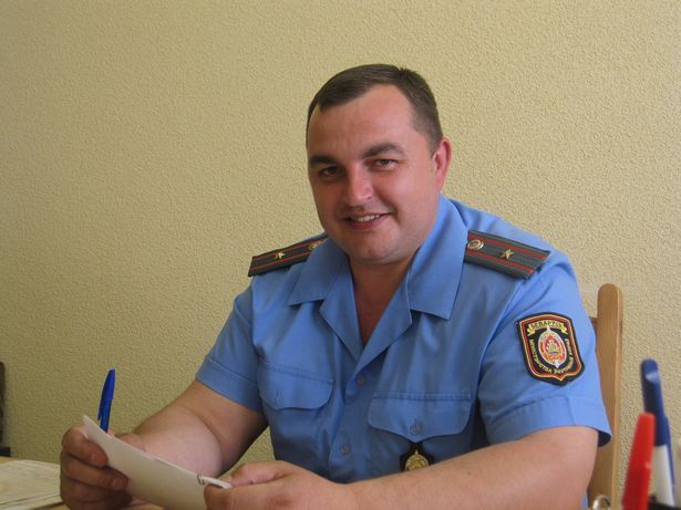 Андрей Волковыцкий, старший госавтоинспектор ОГАИ Барановичского ГОВД