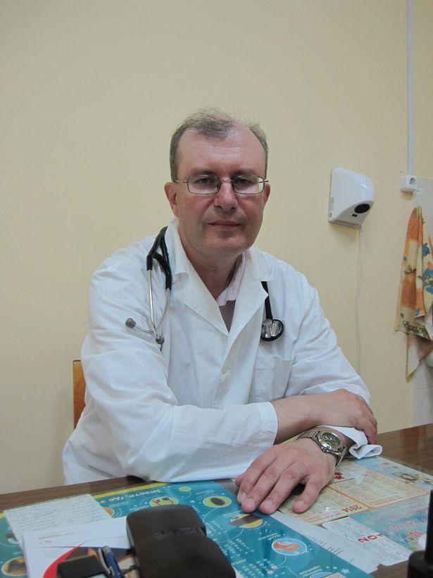 Юрий Мощенко, врач Барановичского диспансера спортивной медицины
